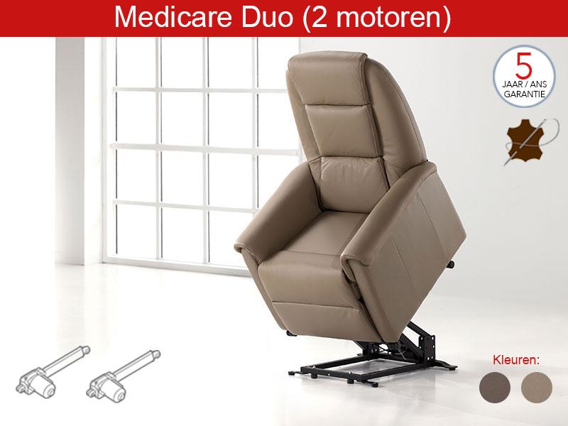 2 motorige relaxzetel