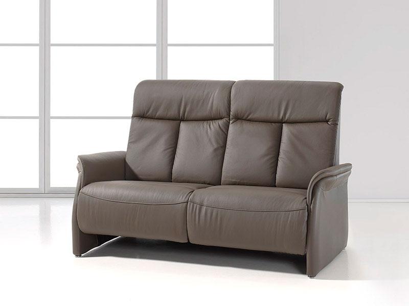 Zetel Met Relaxfunctie.Zetel Kopen De Firenze Is Een Lederen Sofa Met Twee Relaxen